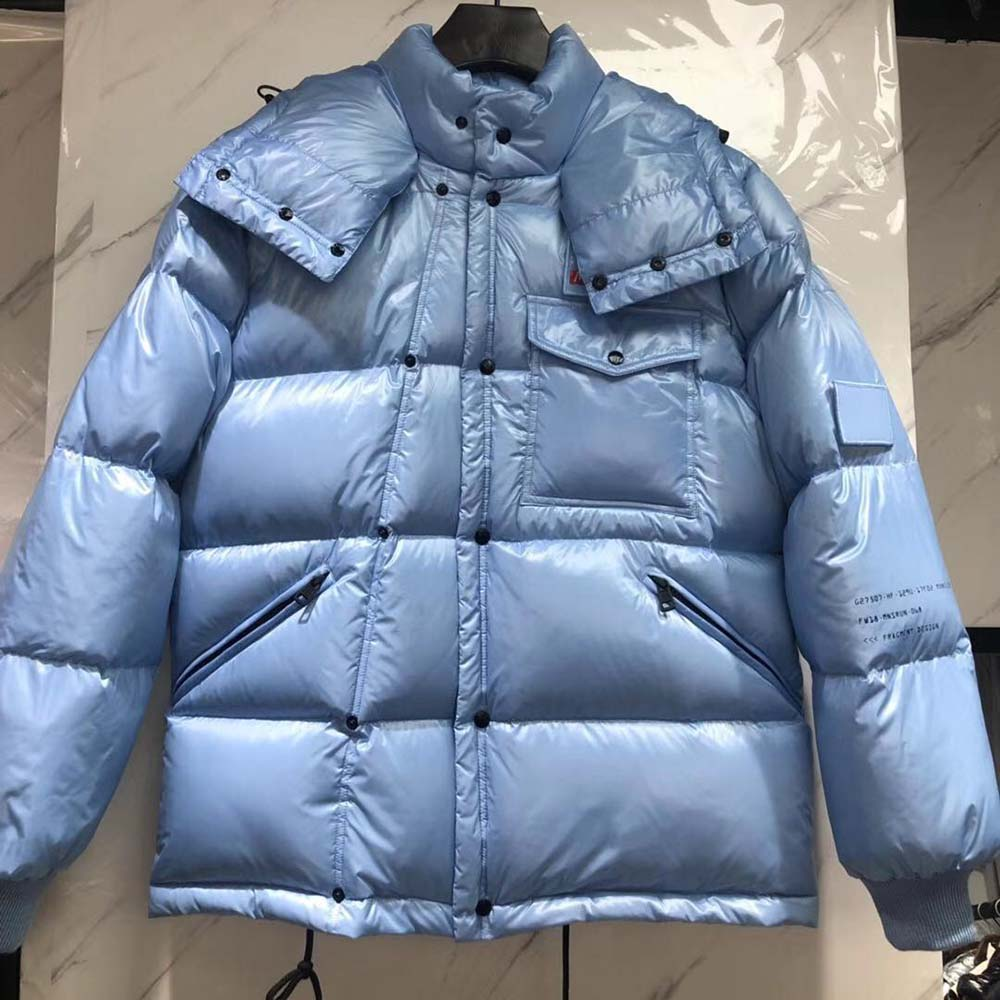 Moncler Down Jacket in Blue - FashionBeast