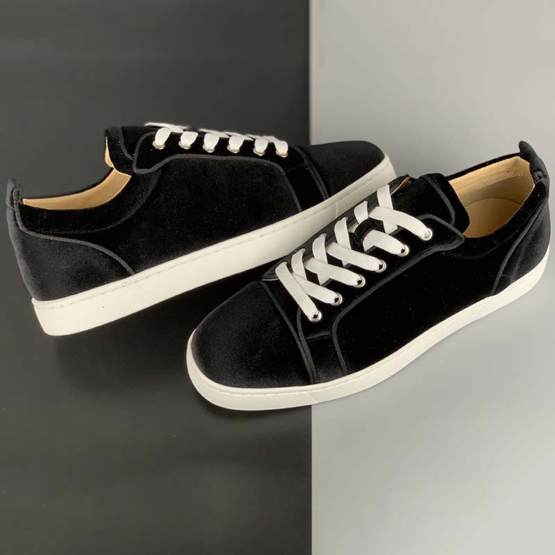 Christian Louboutin Low Top Black Sneakers - FashionBeast
