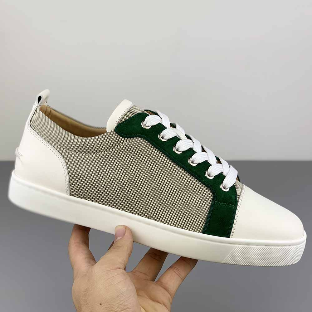 Christian Louboutin Low Top Woven Sneakers - FashionBeast