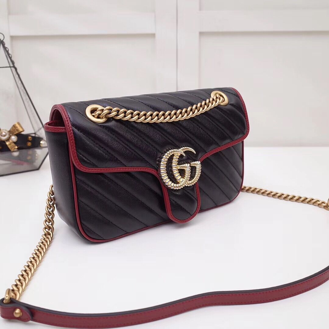 Gucci GG Marmont Small Shoulder Bag - FashionBeast