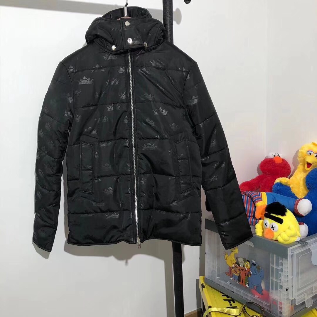 DOLCE & GABBANA Black Down Jacket - FashionBeast