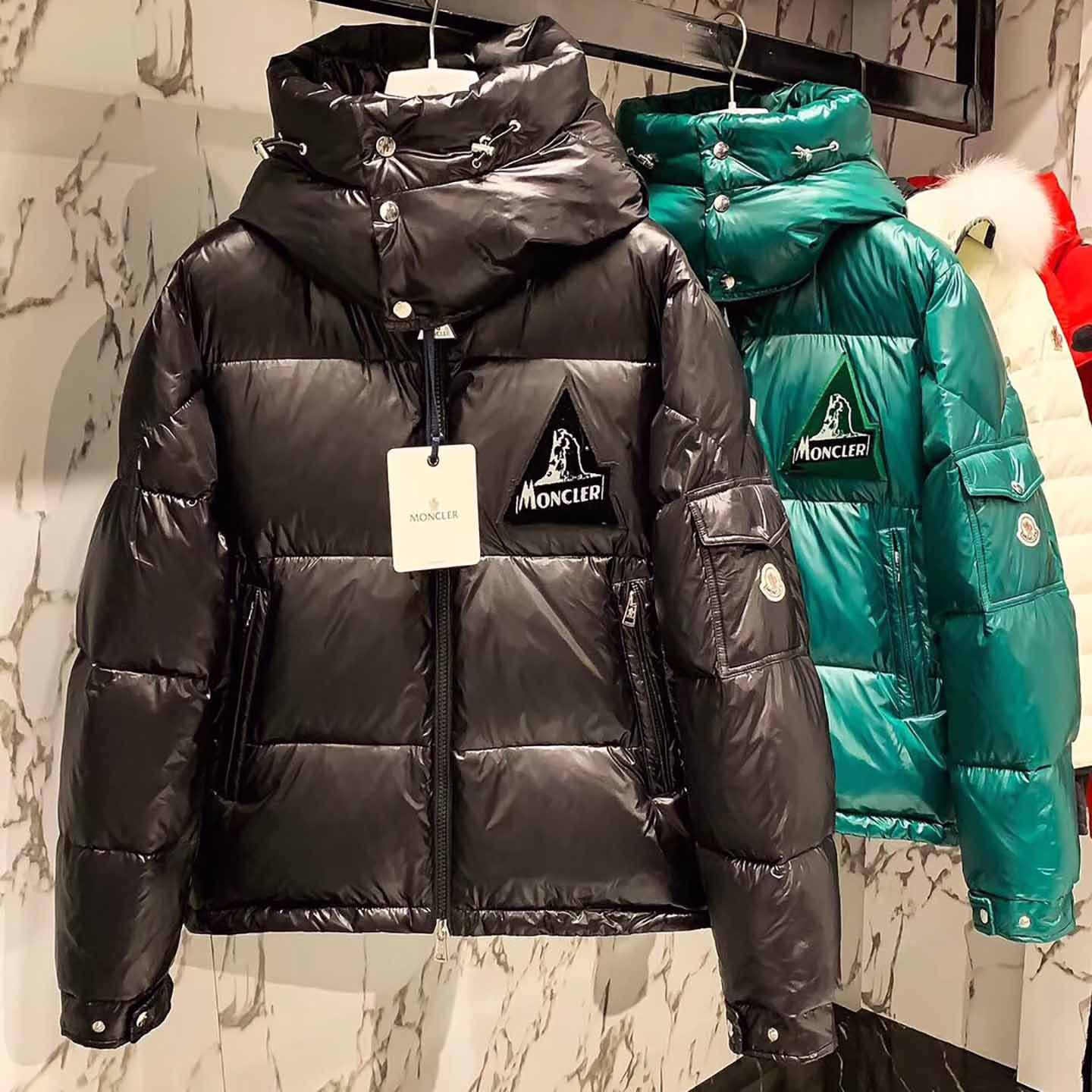 Moncler Down Jacket in Black - FashionBeast
