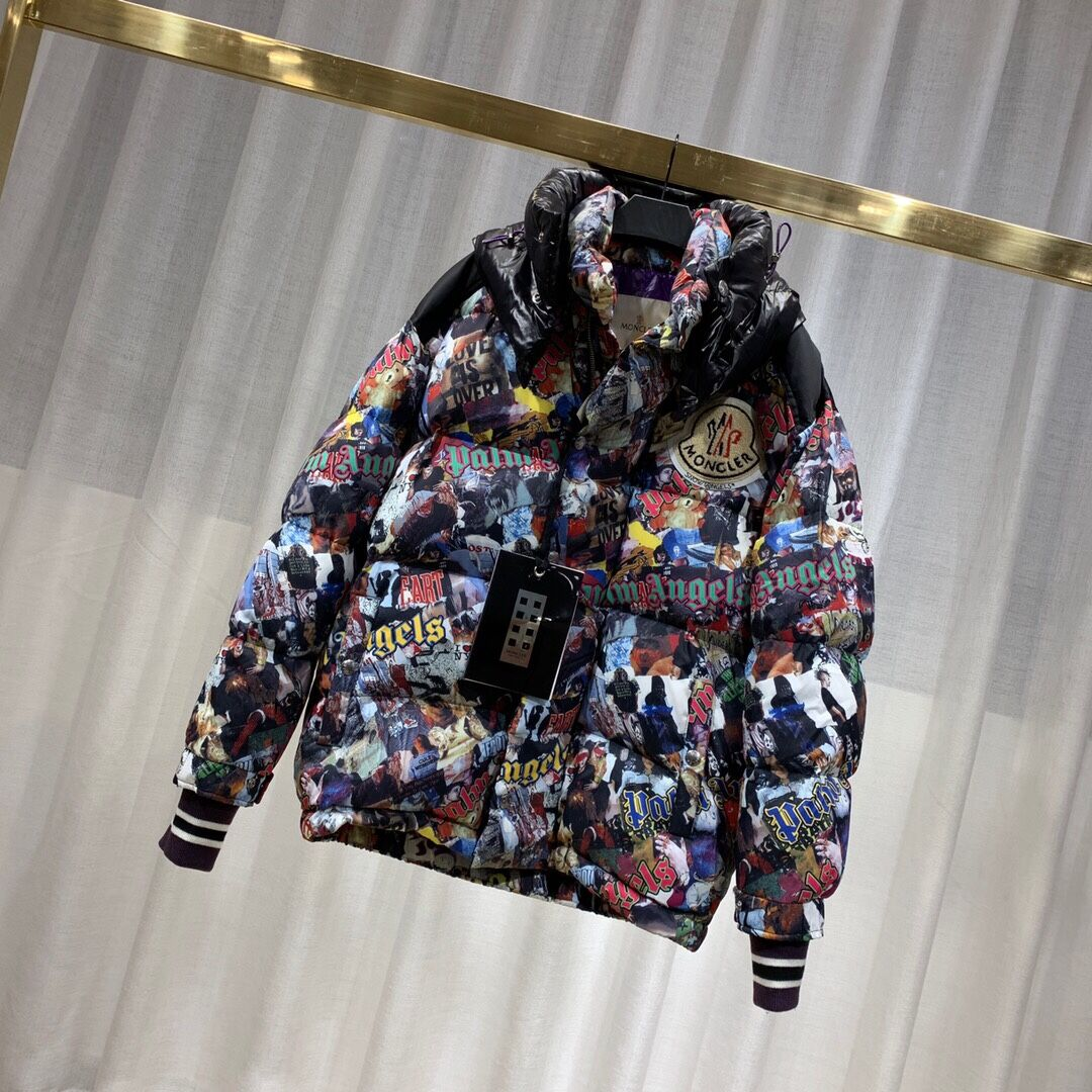 Moncler Lacquered Down Jacket - FashionBeast