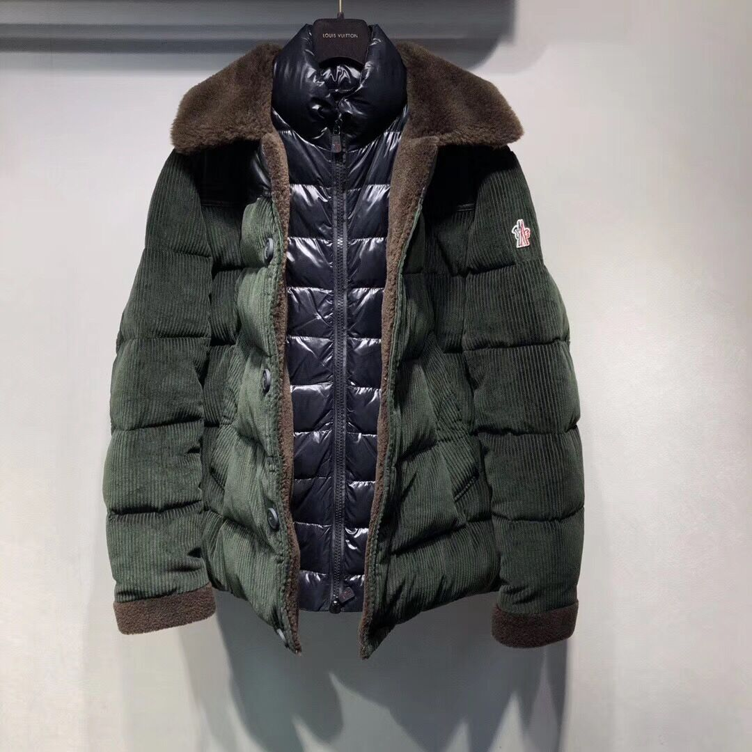 Moncler Green Down Jacket - FashionBeast