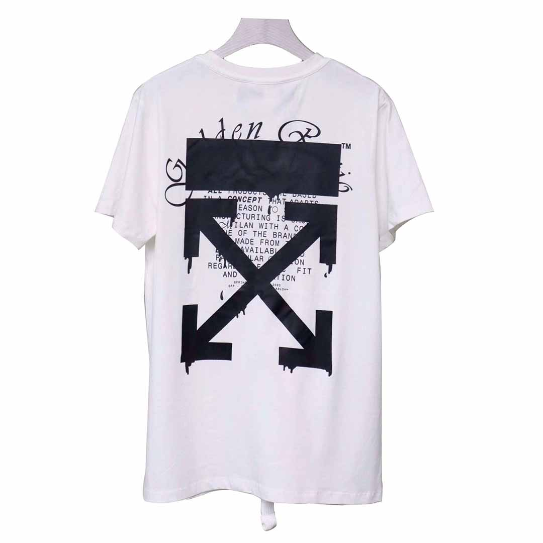 Off-white Dripping Arrows T-shirt in White - FashionBeast