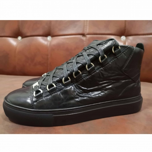 Limited Version Balenciaga Arena Black High Top Sneakers - FashionBeast