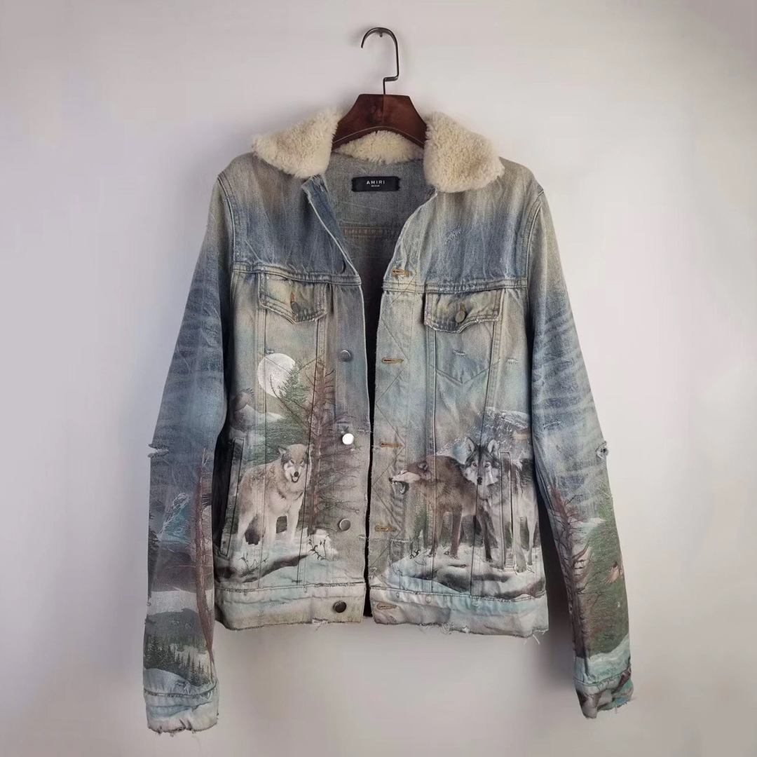 Amiri Art Graffiti Denim Jacket - FashionBeast