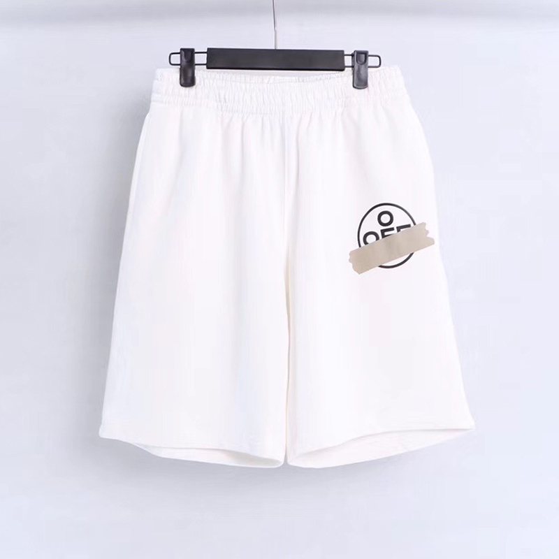 Off-white Tape Arrows Shorts in White - FashionBeast