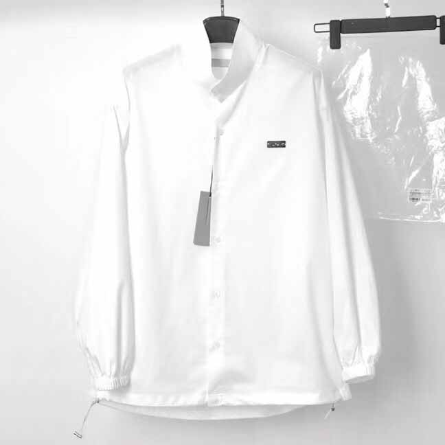 Dior Oversize White Windbreaker Jacket  - FashionBeast