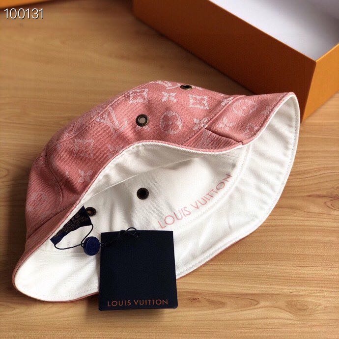 Louis Vuitton Monogram Reversible Denim Bucket Hat - FashionBeast