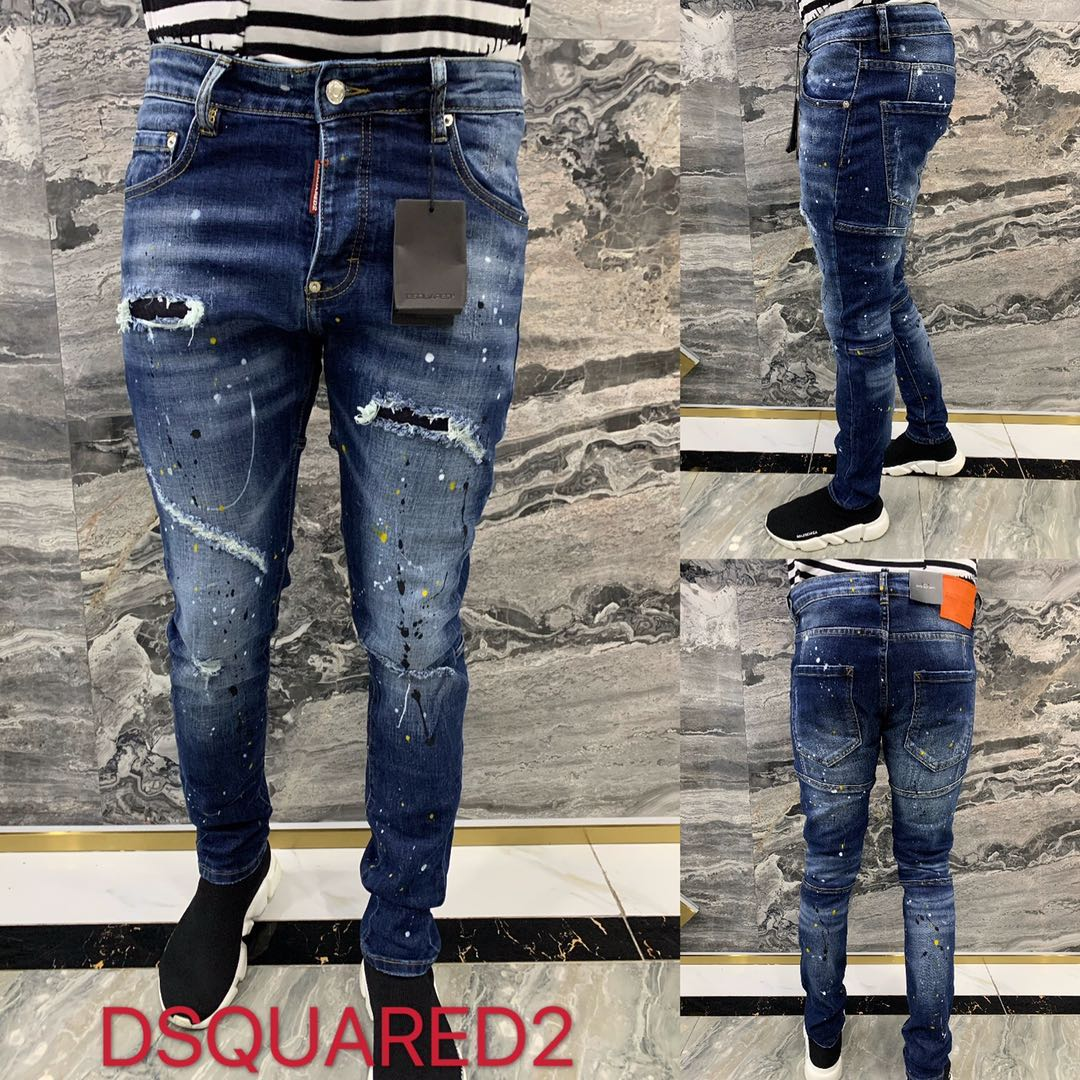 Dsquared2 Slim Fit Jeans - FashionBeast