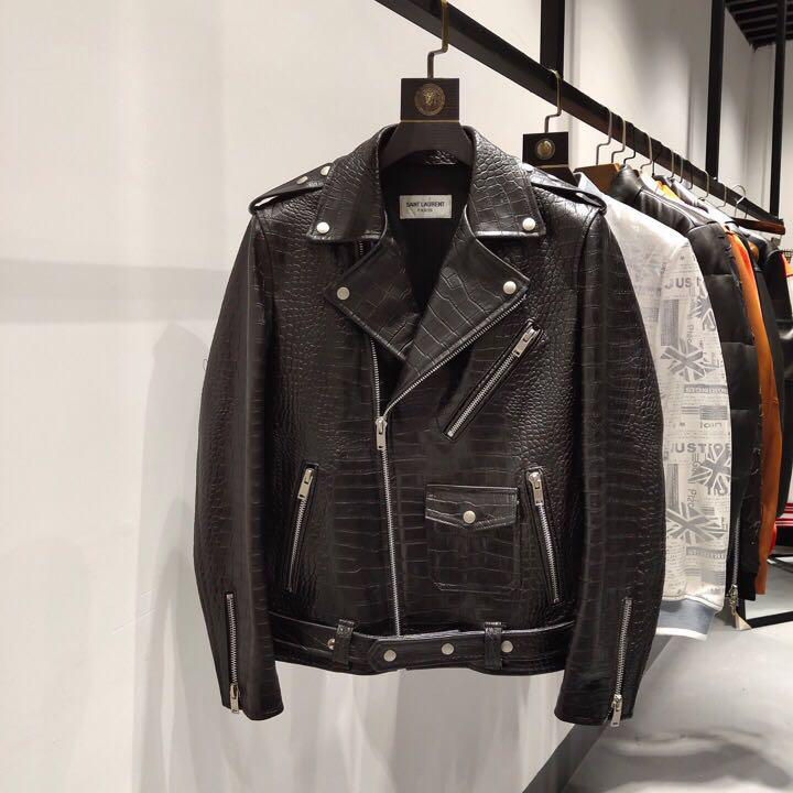 Black Leather Biker Jacket - FashionBeast