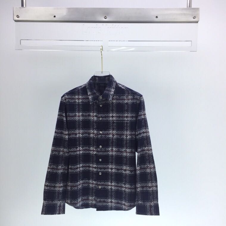 Long Sleeve Check Shirt - FashionBeast