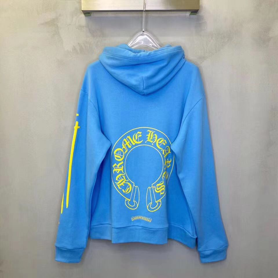 Miami Exclusive Blue Yellow Hoodie - FashionBeast