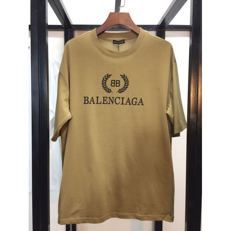 Balenciaga BB Balenciaga T-shirt in Brown - FashionBeast