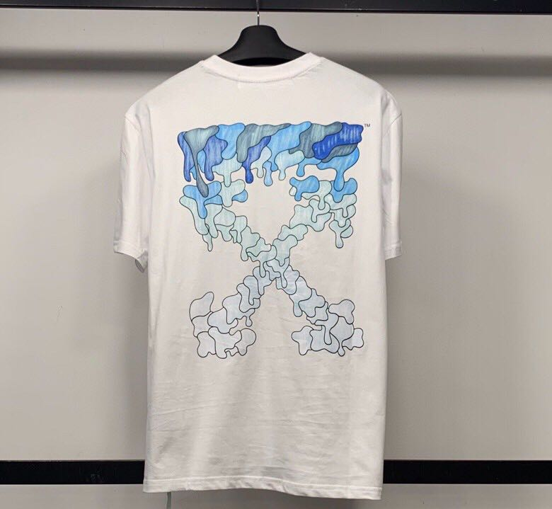 Arrows print short-sleeve T-shirt  in white - FashionBeast