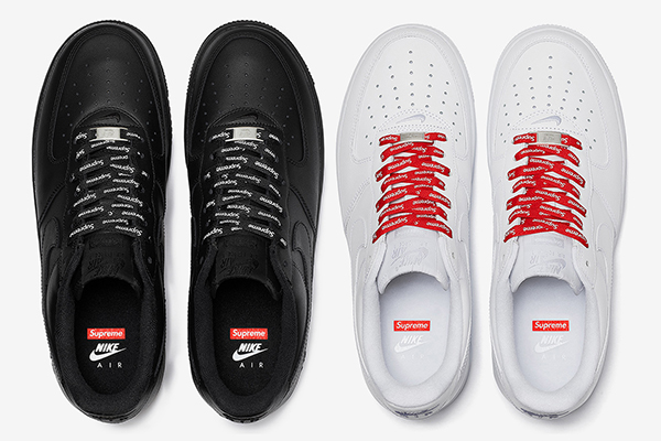 Closer Look At The Supreme x Nike Air Force 1 Low - FashionBeast